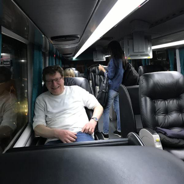 Im Luxus Bus nach Corrientes...