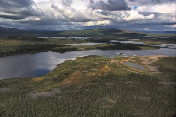 Lapplands Gewässervielfalt