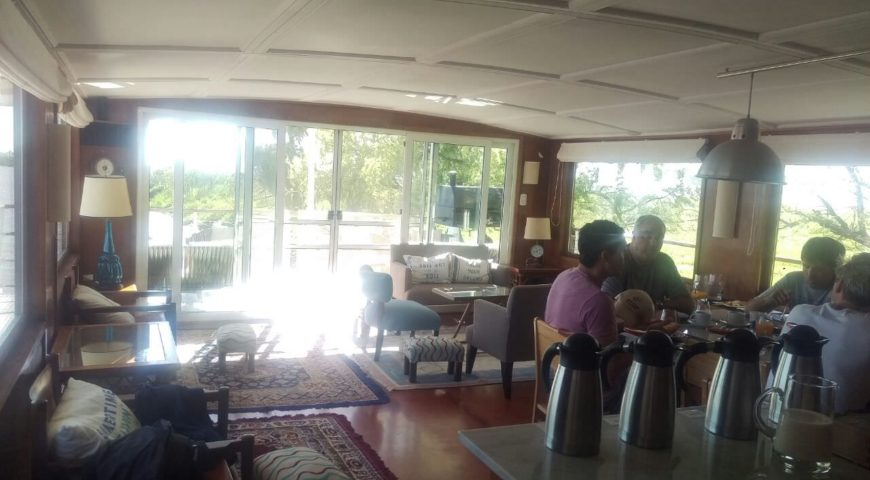 Argentinien-Dorado-Cruiser-Gallerie-Frühstück