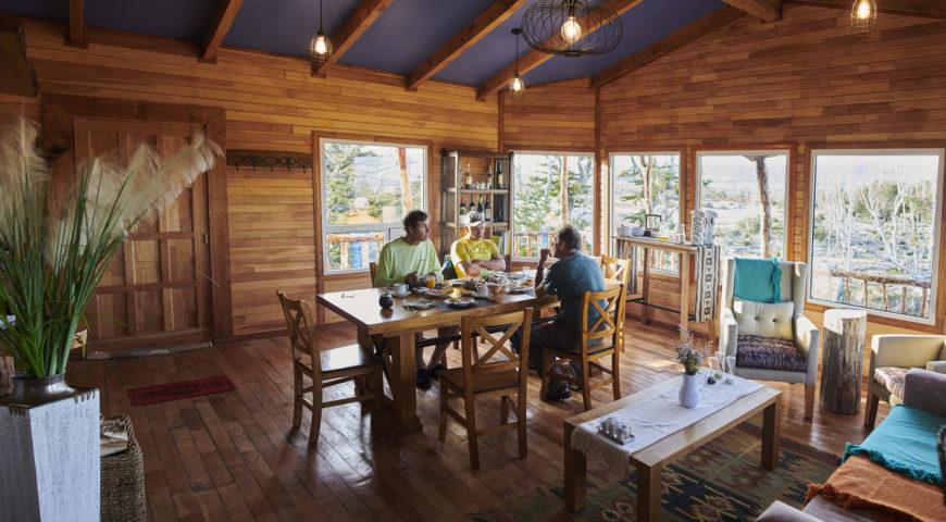 Argentinien-Worlds-End-Lodge-Frühstück