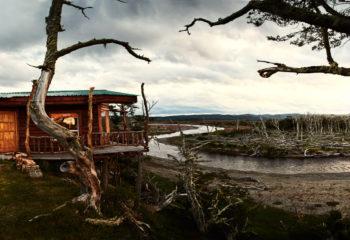 Argentinien-Worlds-End-Lodge-Lodge-Fluss