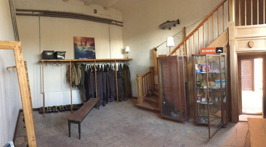 Daenemark-Royal-Seatrout-Lodge-Wathosenraum