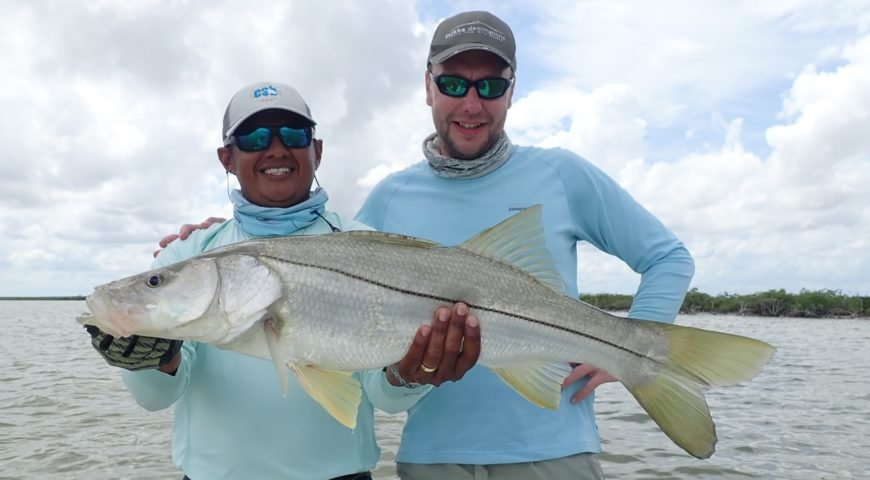 Espiritu-Santo-Bay-Lodge-Snook