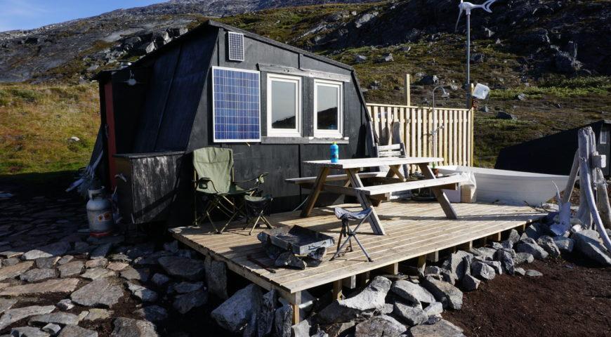 Grönland-Secret-River-Camp