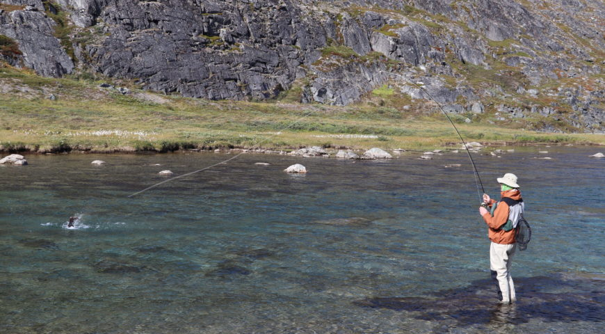Grönland-Secret-River-Camp-Aquarium-Drill