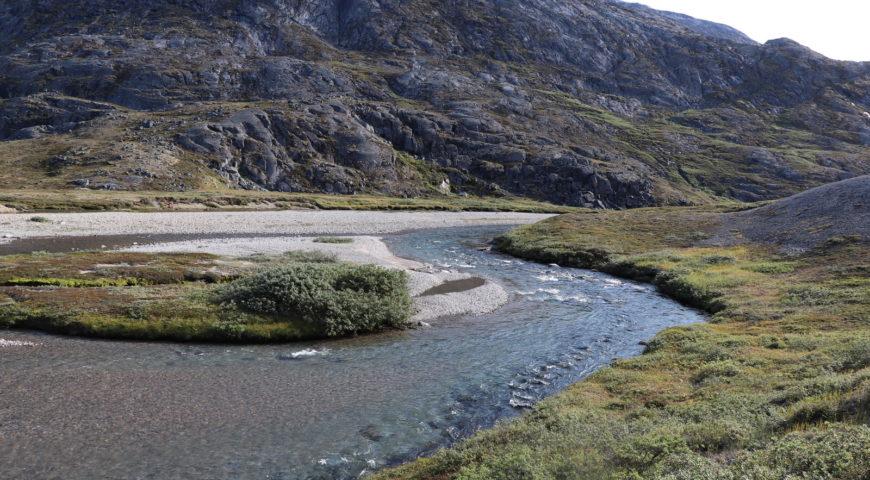 Grönland-Secret-River-Camp-Fluss-Oberlauf