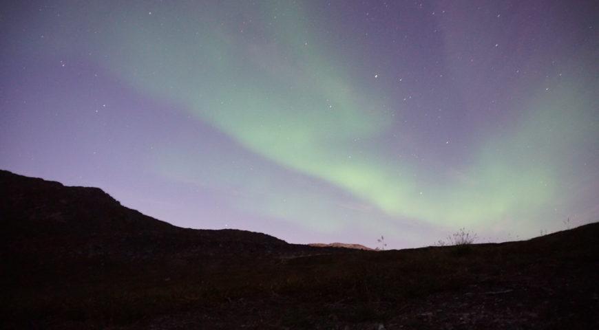 Grönland-Secret-River-Camp-Nordlicht