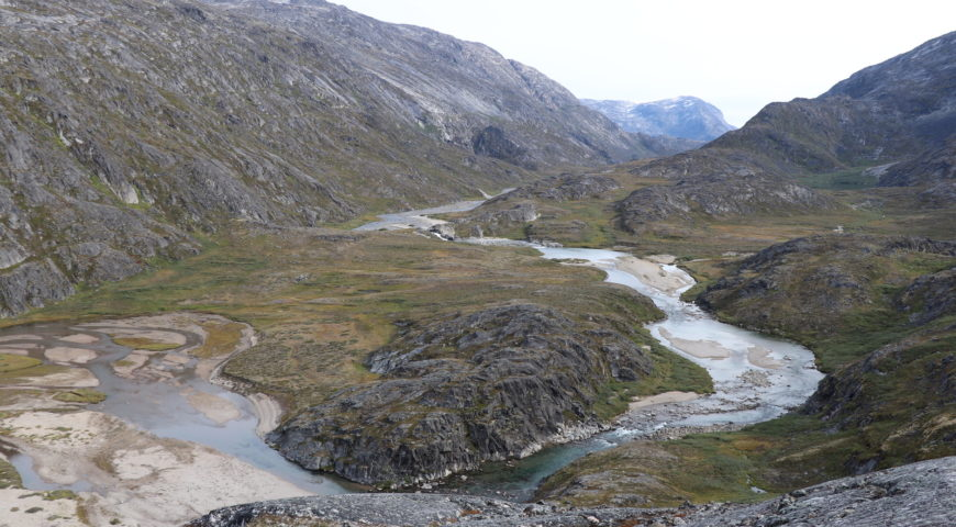 Grönland-Secret-River-Camp-Oberlauf