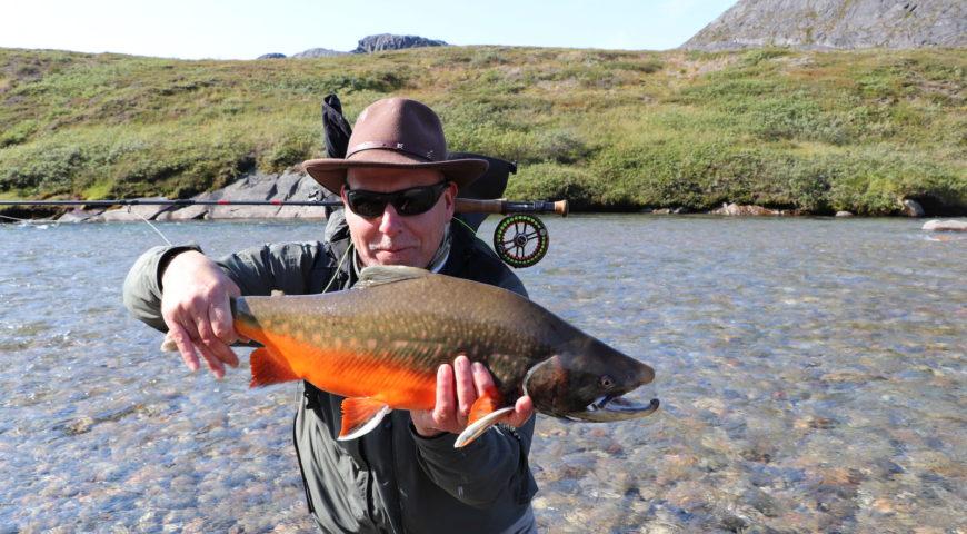 Grönland-Secret-River-Camp-Saibling-gefärbt