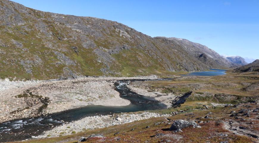 Grönland-Secret-River-Camp-Unterlauf