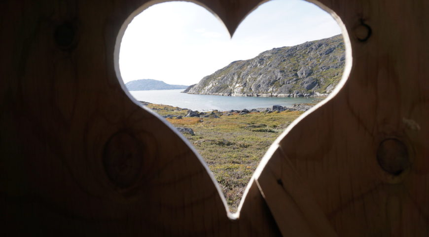 Grönland-Secret-River-Toilettenblick