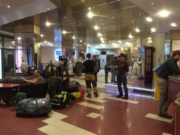 Hotel Lobby Murmansk Fliegenfischer
