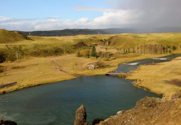Top Pool am Tungulaekur, Island
