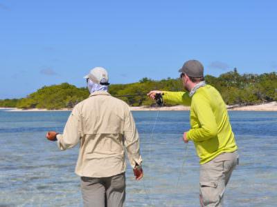 Kuba-Salzwasserfliegenfischen