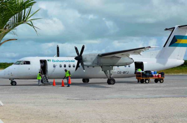 Maschine der Bahamasair