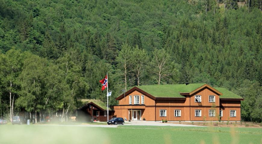 Norwegen-Gaula-NFC-Lodge