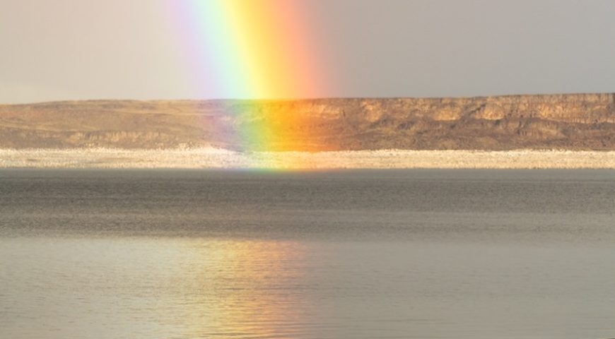Pecho-Blanco-Regenbogen-See