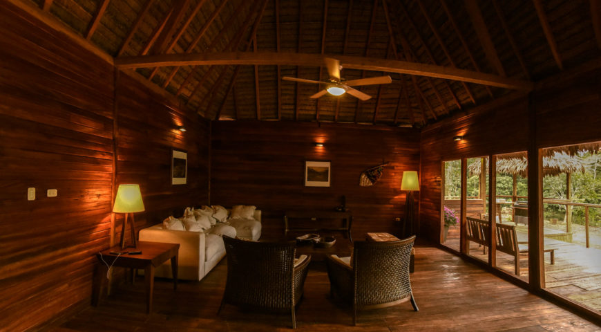 Pluma-Lodge-Wohnzimmer