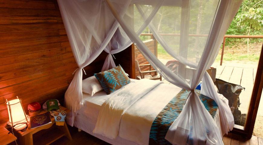 Pluma-Zimmer-Bett