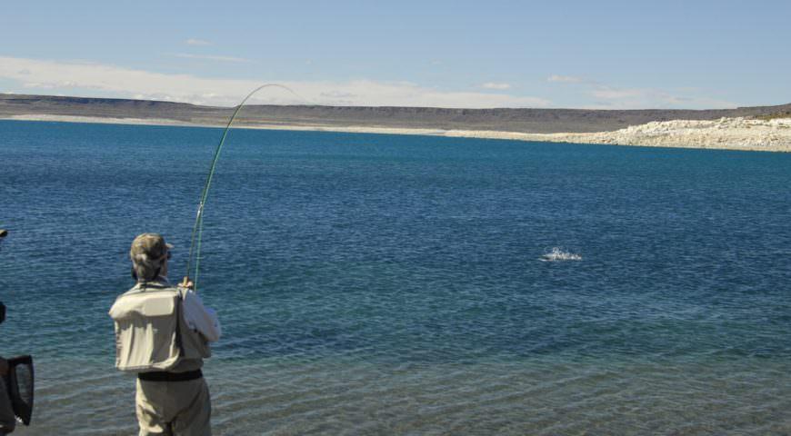Reise-Argentinien-Lago-Strobel-Estancia-Laguna-Verde-See-1