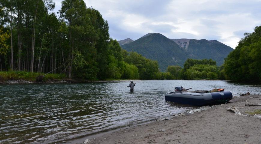 Russland-Kamchatka-Icha-River-Camp-Pool