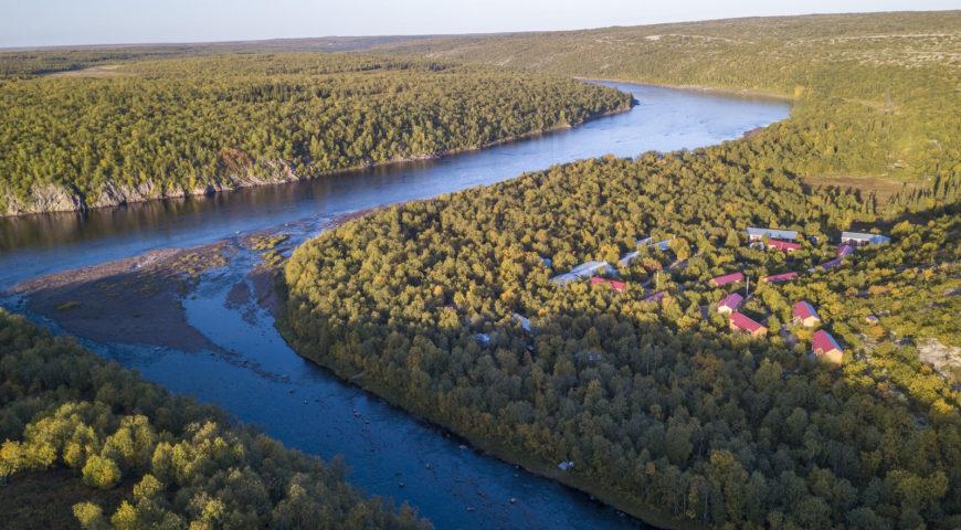 Russland-Ponoi-Ryabaga-Homepool-Einlauf