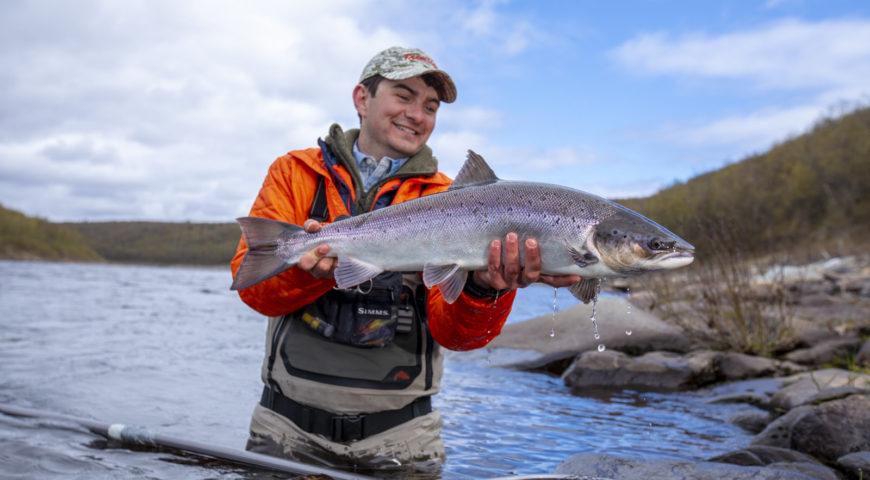 Russland-Ponoi-Ryabaga-Spring-Fish