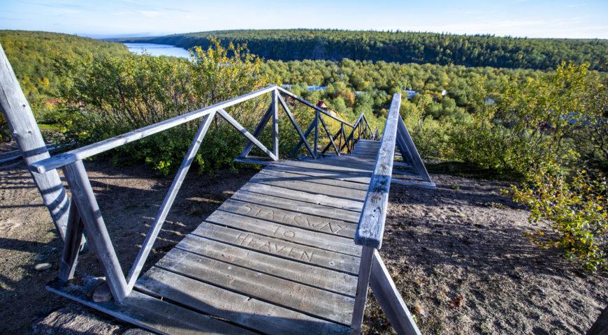 Russland-Ponoi-Ryabaga-Stairway-To-Heaven