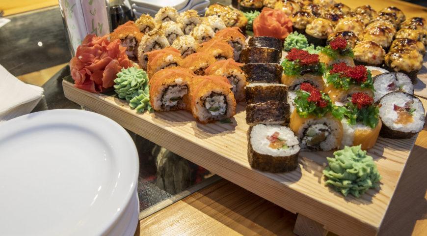 Russland-Ponoi-Ryabaga-Sushi