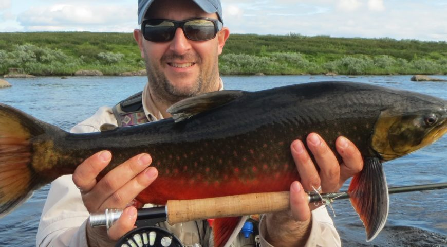 Russland-Varzina-Trout-Tented-Camp-Char