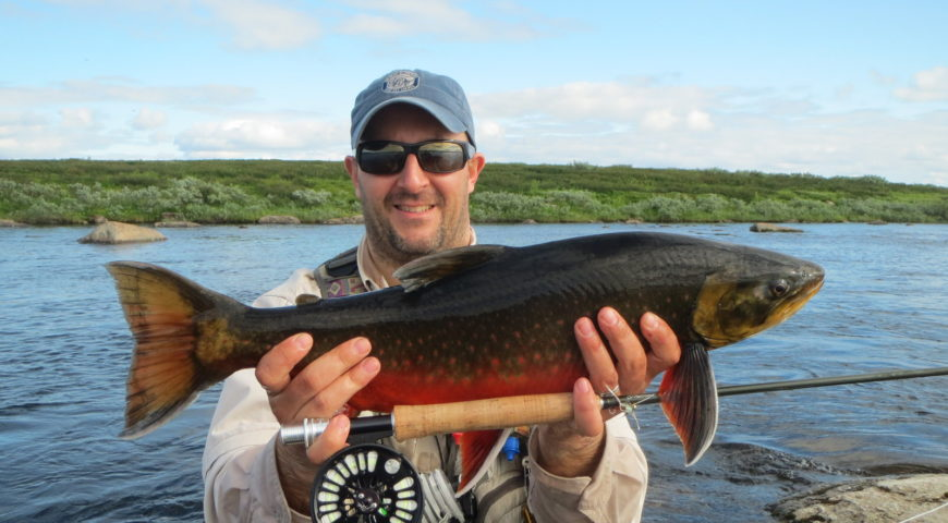 Russland-Varzina-Trout-Tented-Camp-Saibling-gross