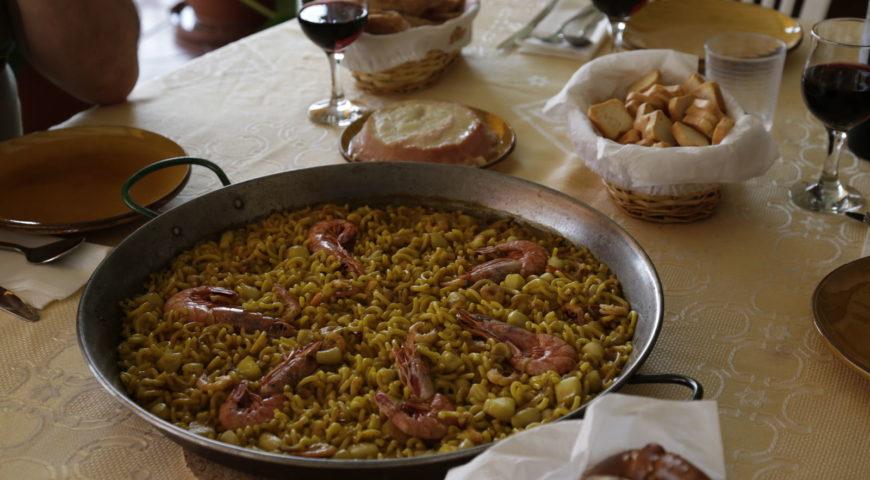 Spanien-Barben-Galerie-Dinner