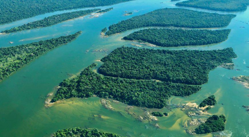 Xingu-Fluss