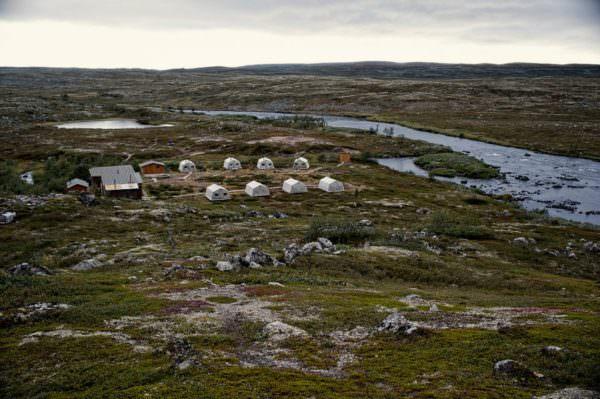 Trout Tented Camp, Varzina, Kola Halbinsel, Russland