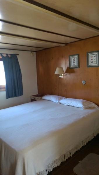 Kabine auf dem Dorado Cruiser, Rio Parana, Argentinien